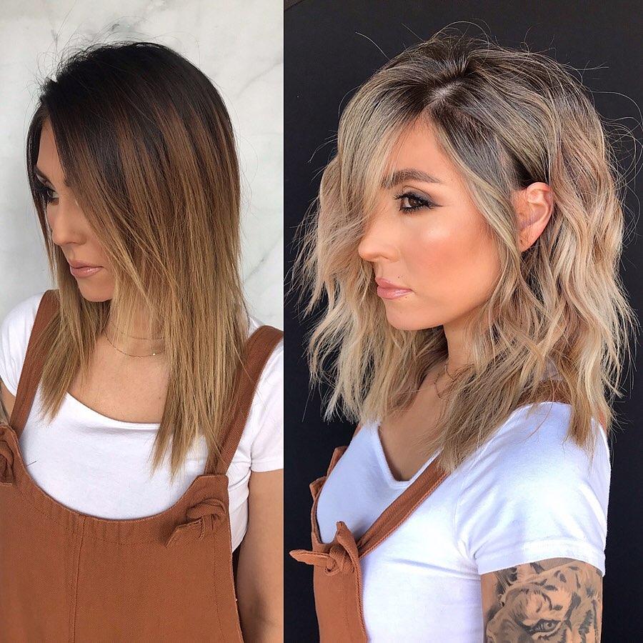 Layered Medium-Length Hairstyles for Fine Hair