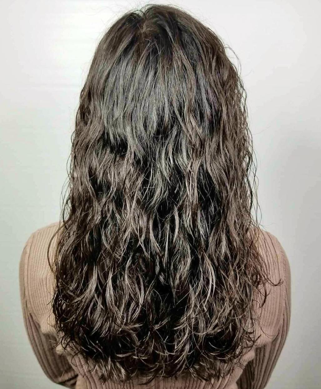 Loose Curls Perm for Long Hair