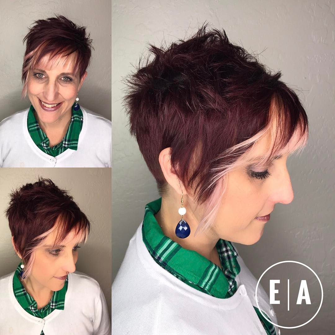 Short Spiky Pixie with Undercut