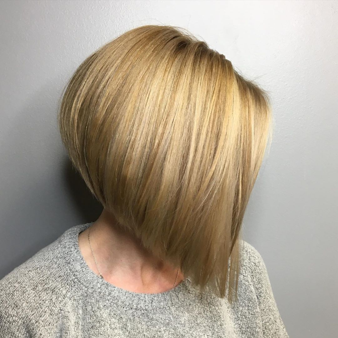 Steeply Angled Inverted Bob