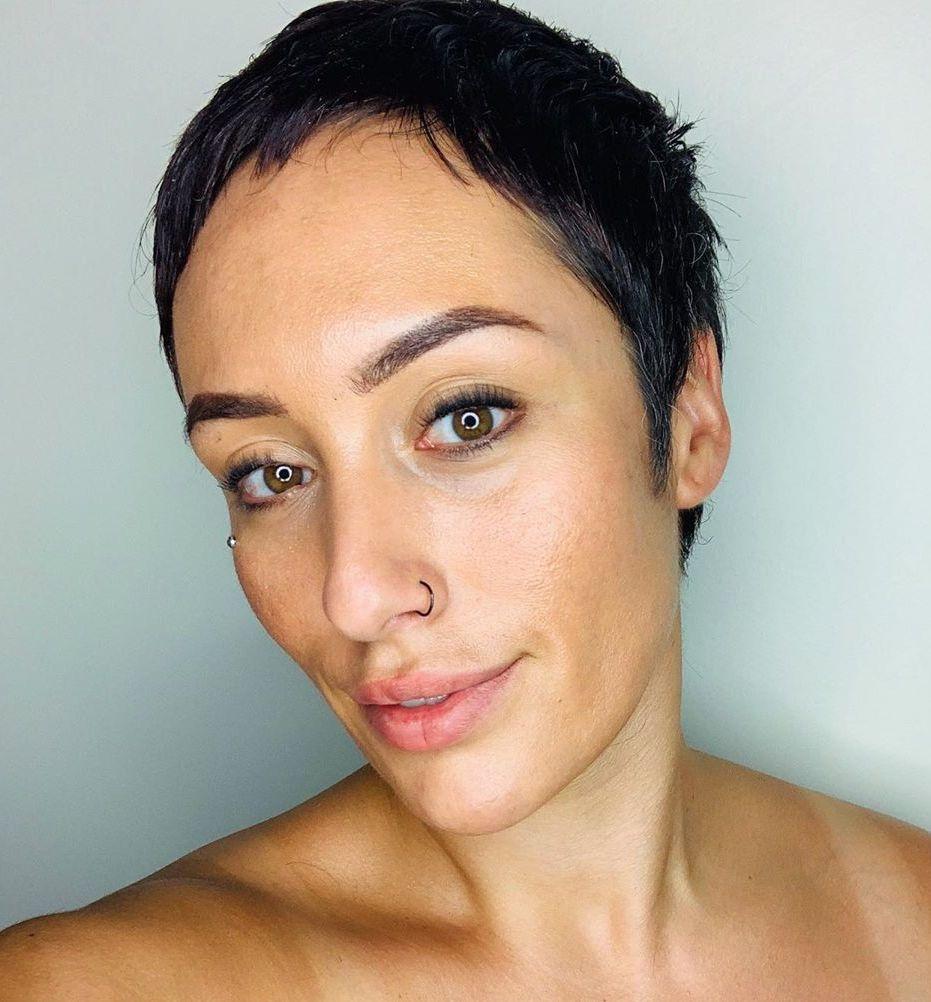 Very Short Pixie Cut for Thin Hair