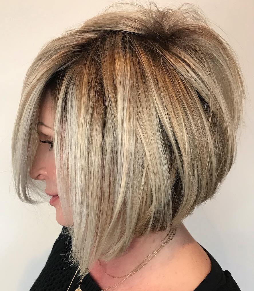 Voluminous A-Line Bob