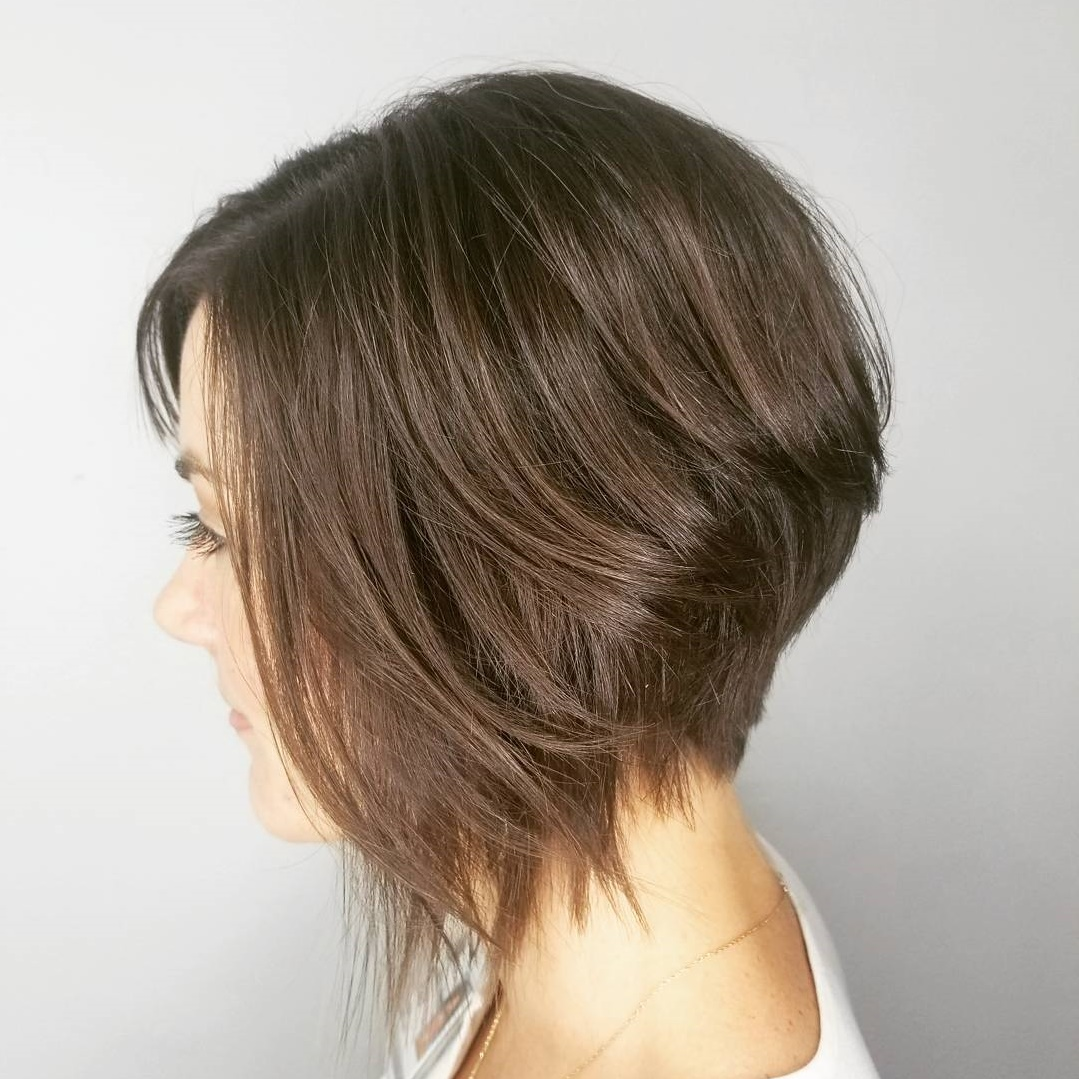 Stacked Bob for Thin Hair