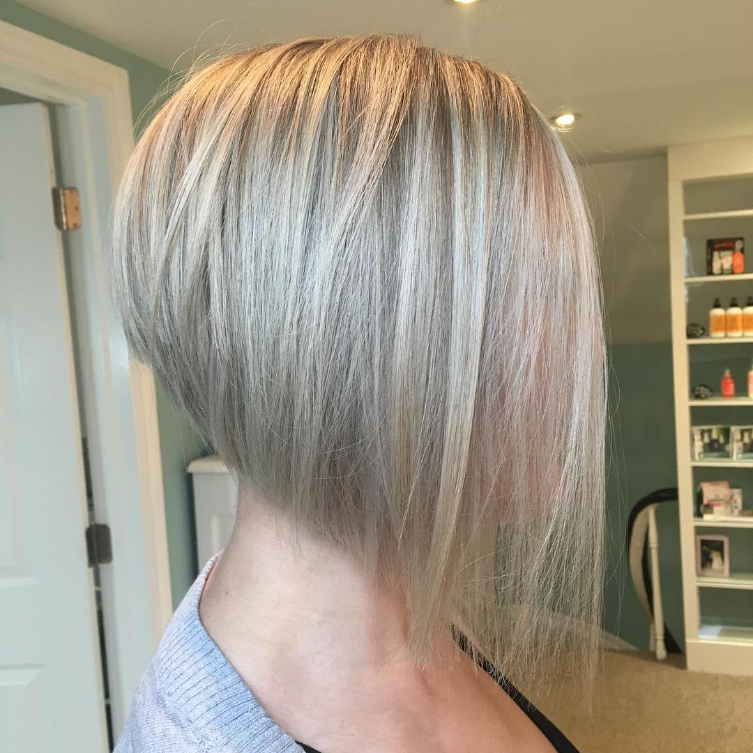 Inverted Bob Blowout for Thin Hair