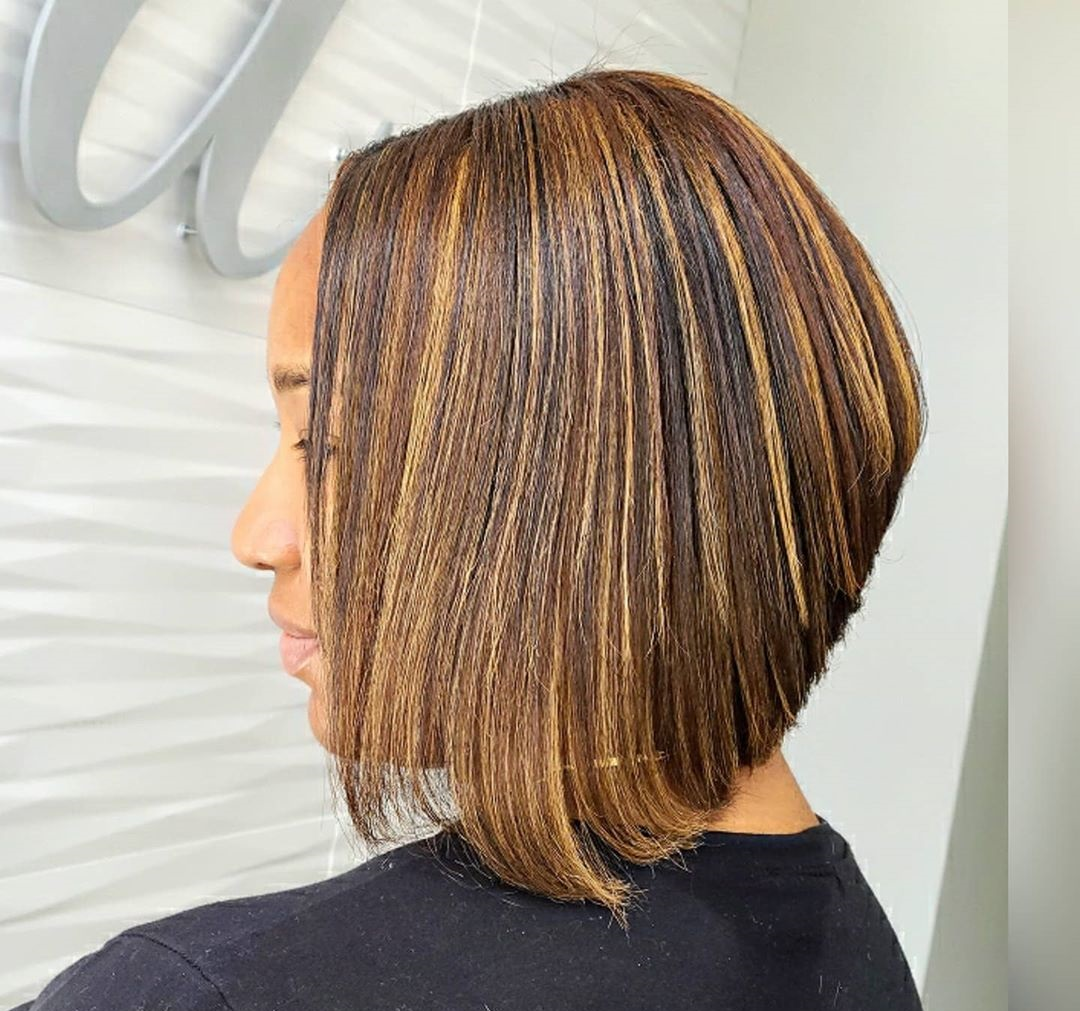 Long Stacked Angled Reverse Bob