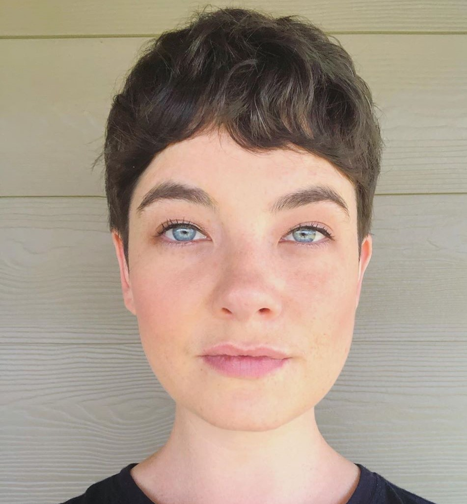 Very Short Pixie for Curly Hair