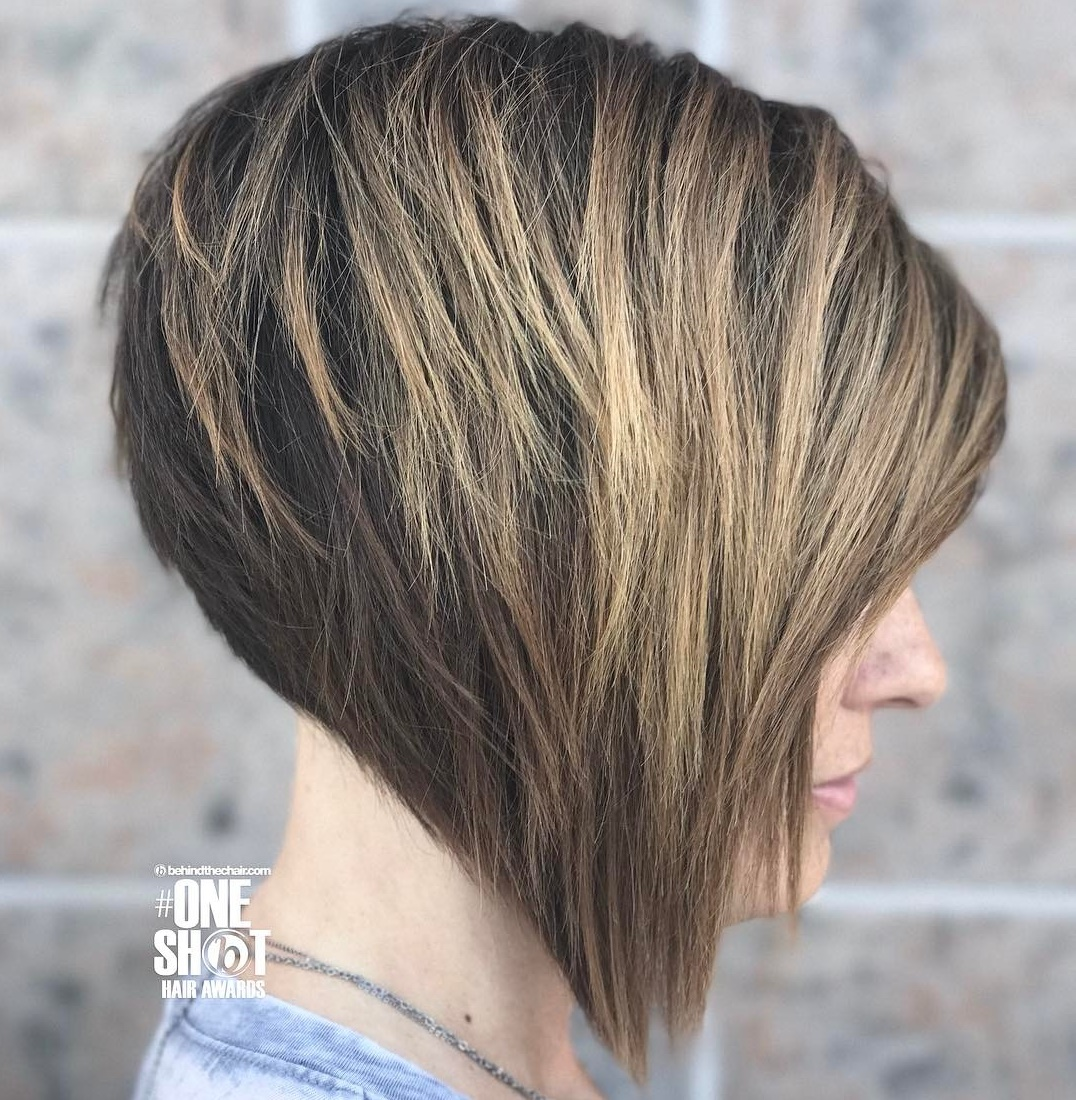 Inverted Bob with Choppy Layers