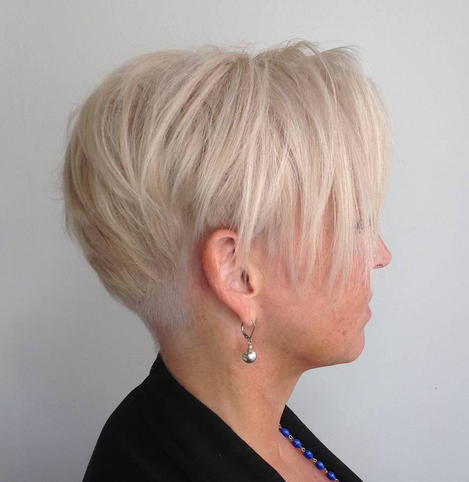 Platinum Pixie Hairstyle