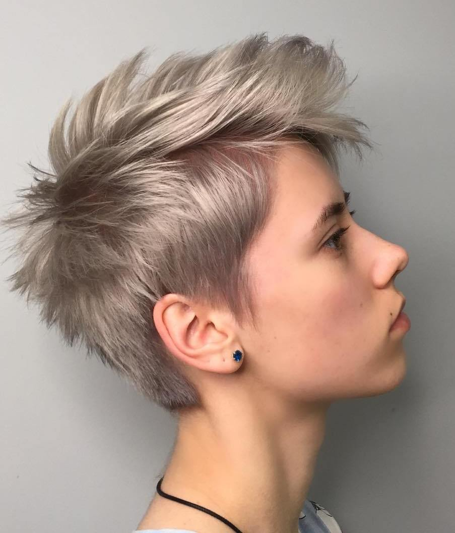 Spiky Pixie for Thick Fine Hair