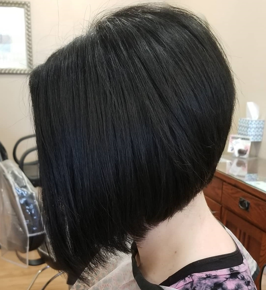 Accurate Black A-line Bob