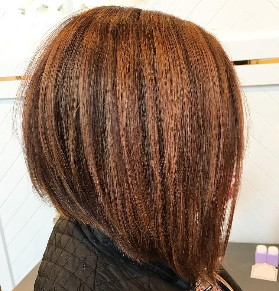 Choppy A-Line Haircut
