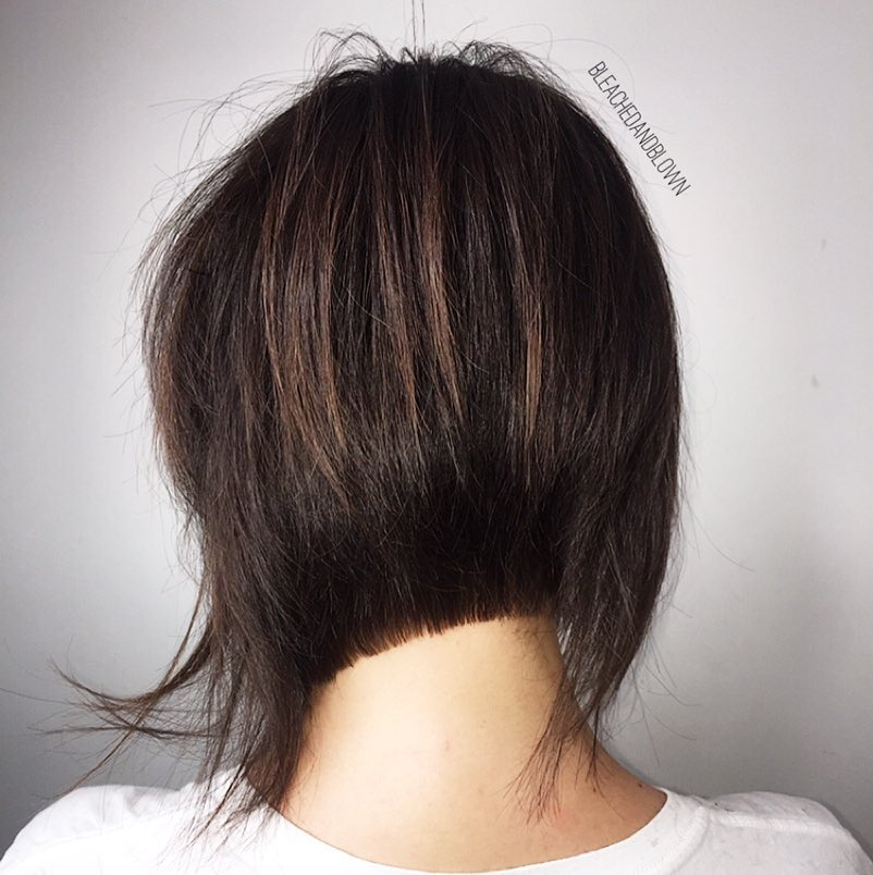 Messy and Neat Inverted Bob