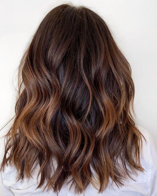 Long Wavy Choppy Hair