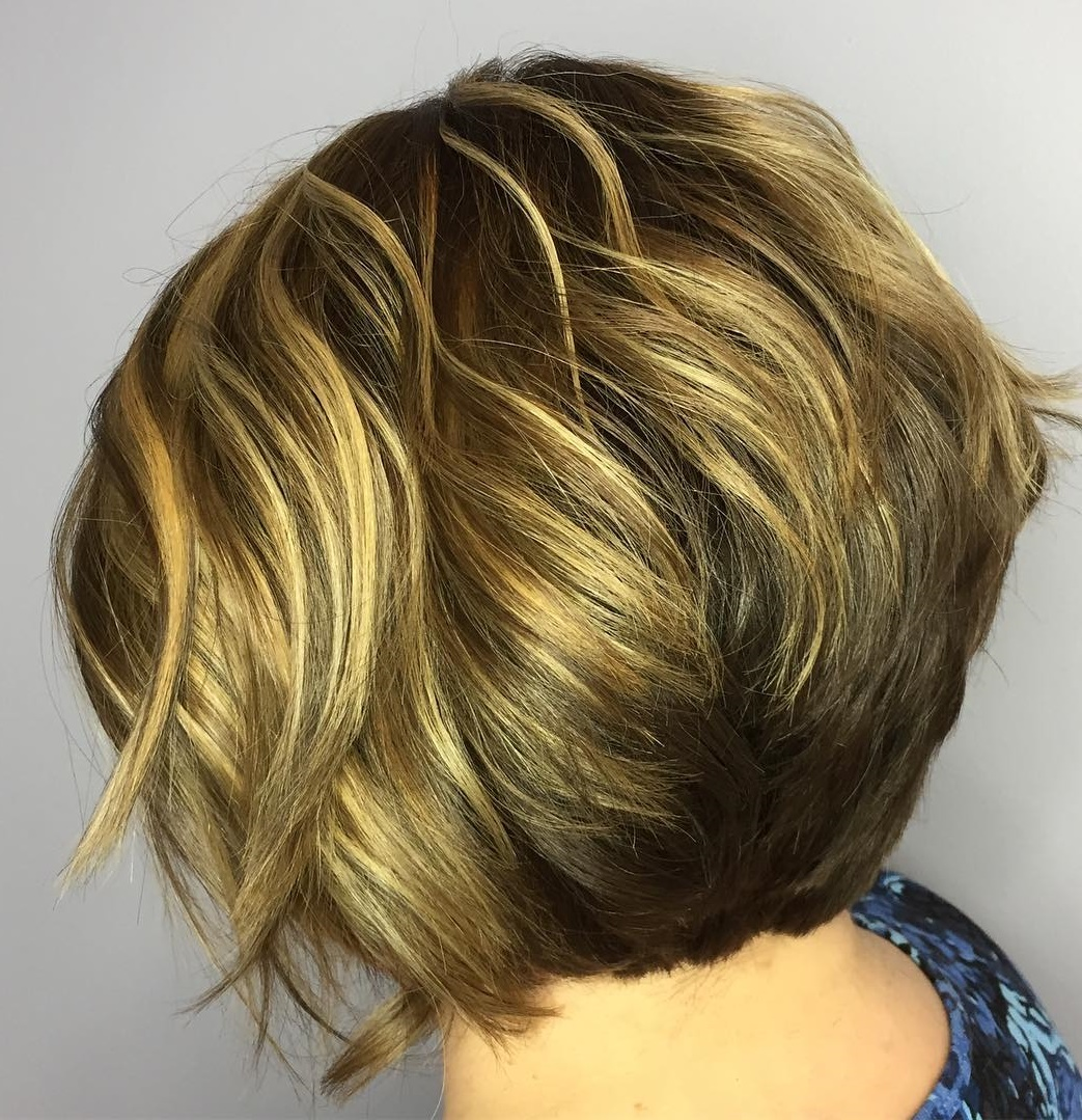Stacked Bob for Thick Hair