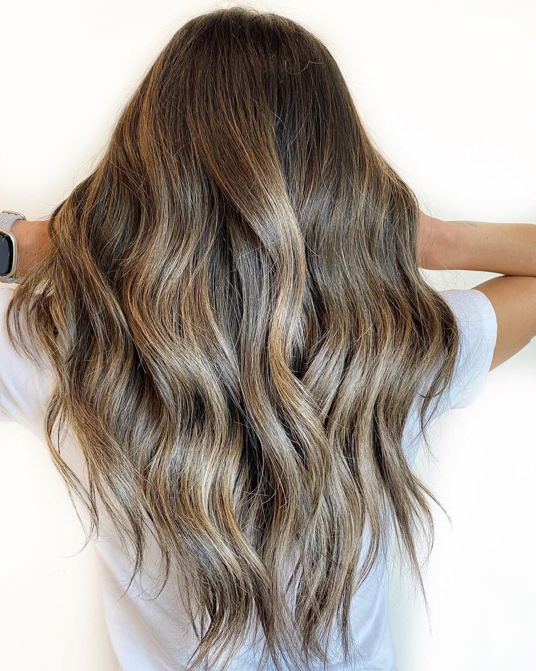Volumizing Long V Haircut