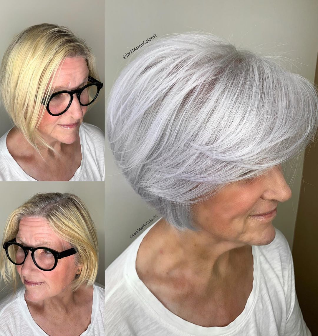 What are the best bob haircuts for older women? - Hair Adviser