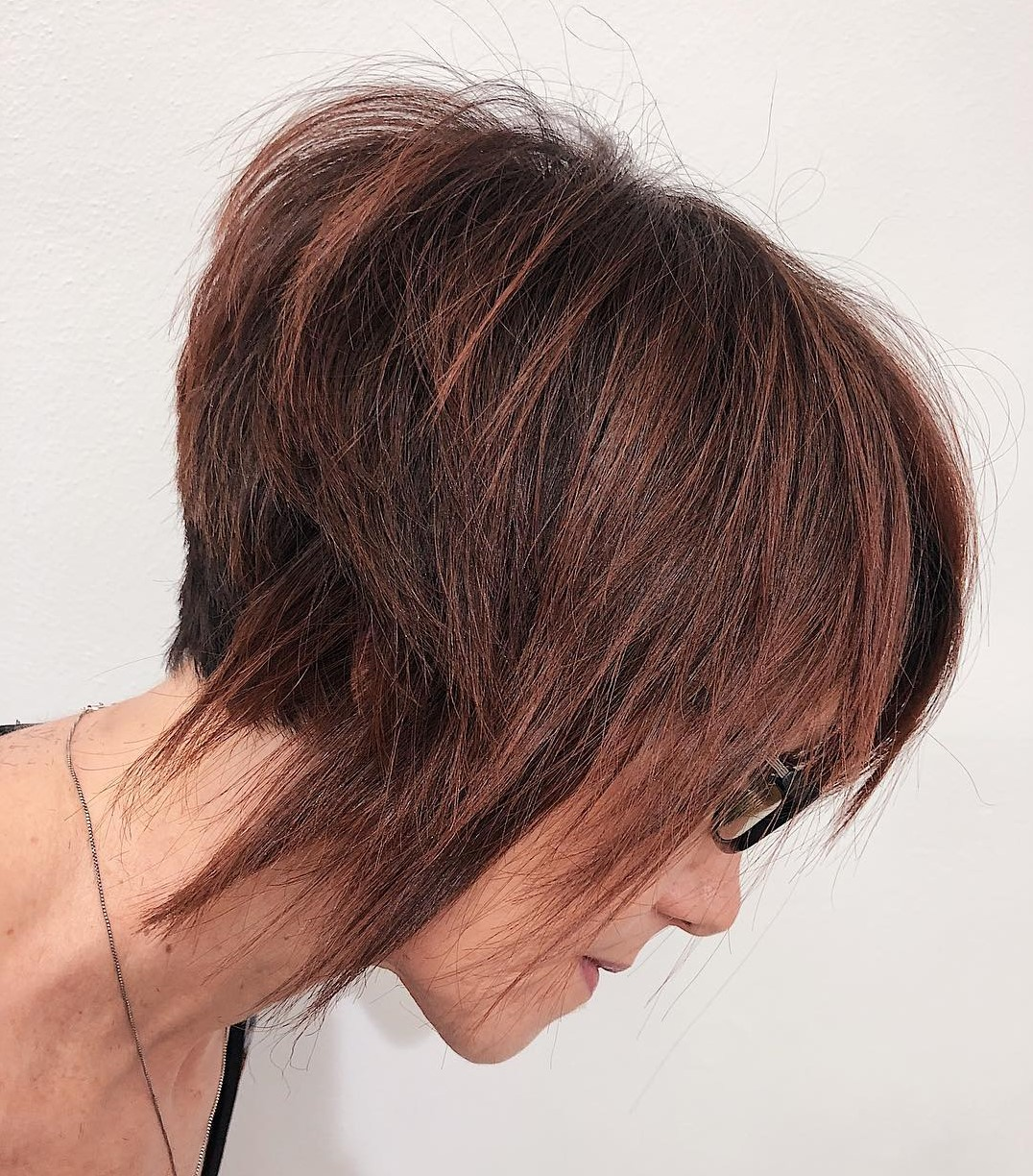 Short Bob for Older Women with Thin Hair