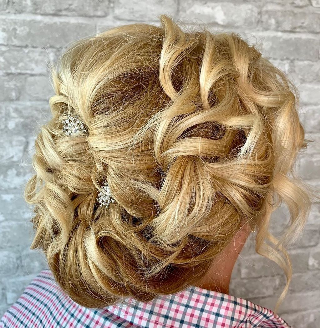 Hair Up Hairstyle for Curly Hair