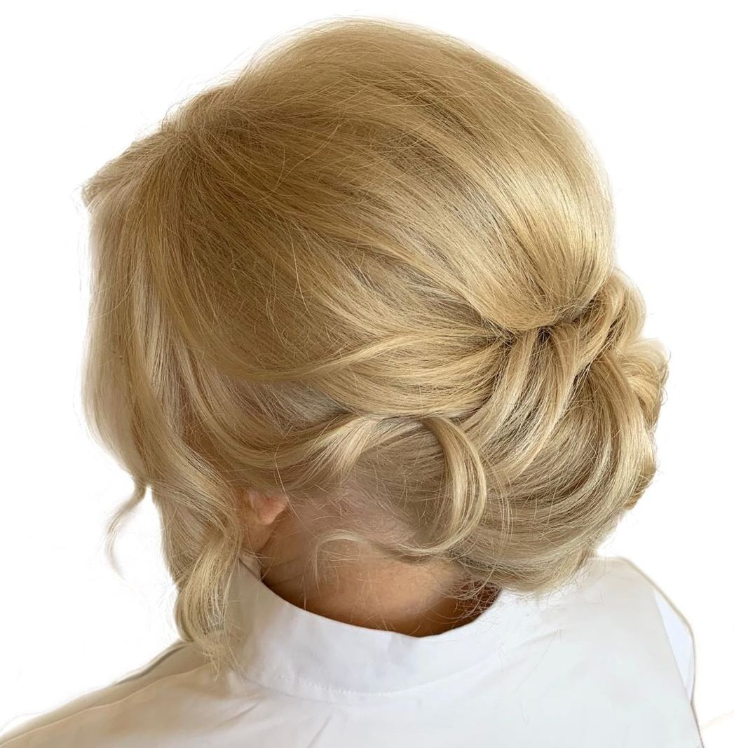 Formal Mother of the Bride Updo
