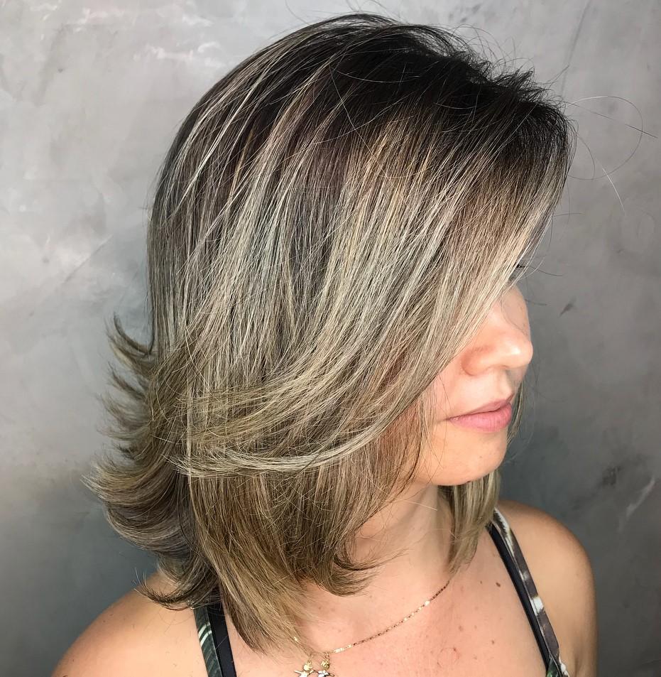 Medium Cut for Women with Fine Hair