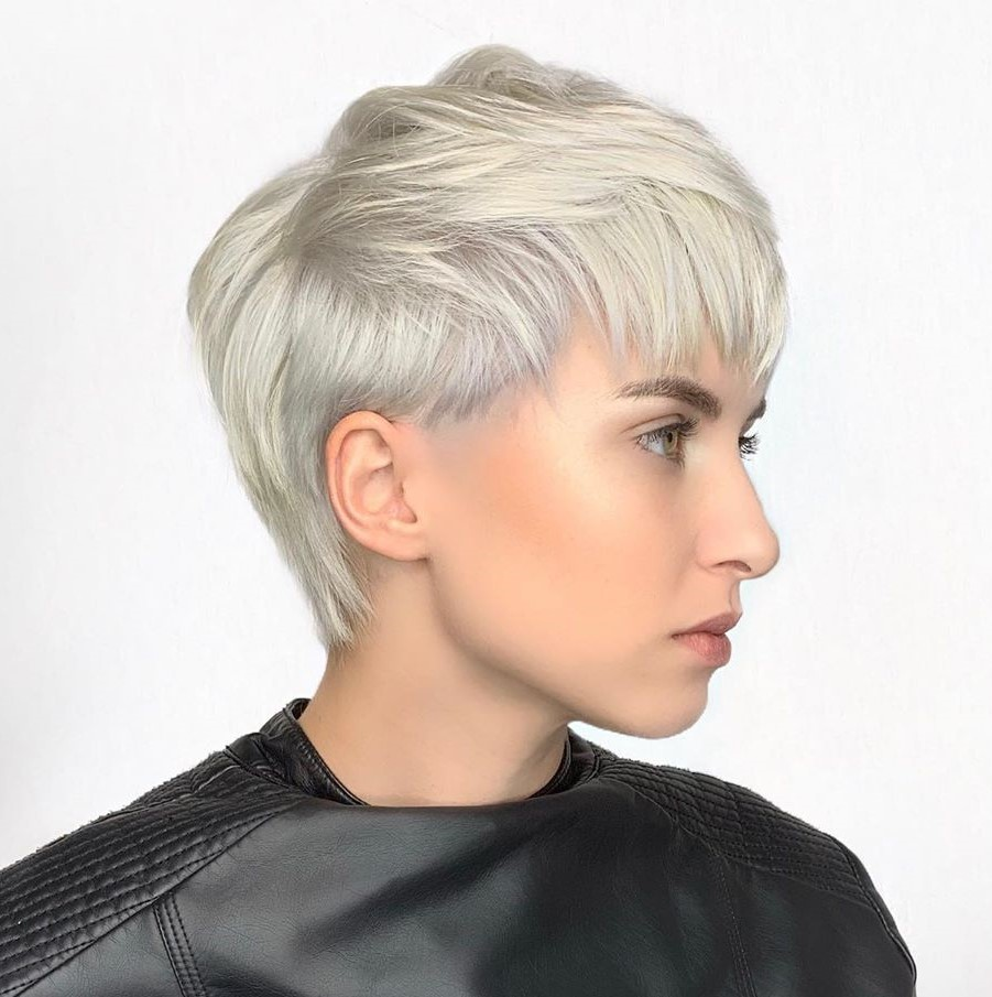 Bold Pixie Hair Cut