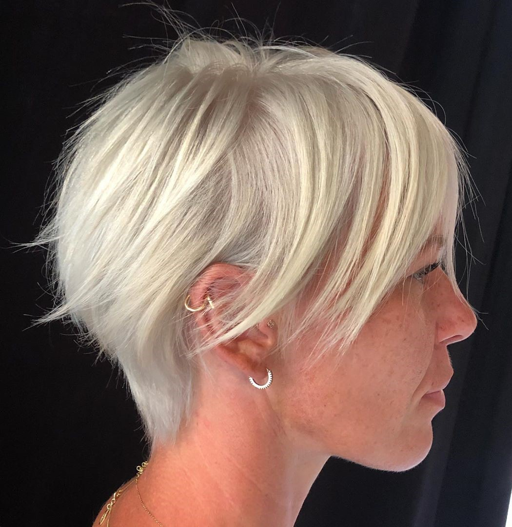 Wispy Pixie Cut for Thin Hair