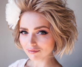 Short Voluminous Bob Hairstyle