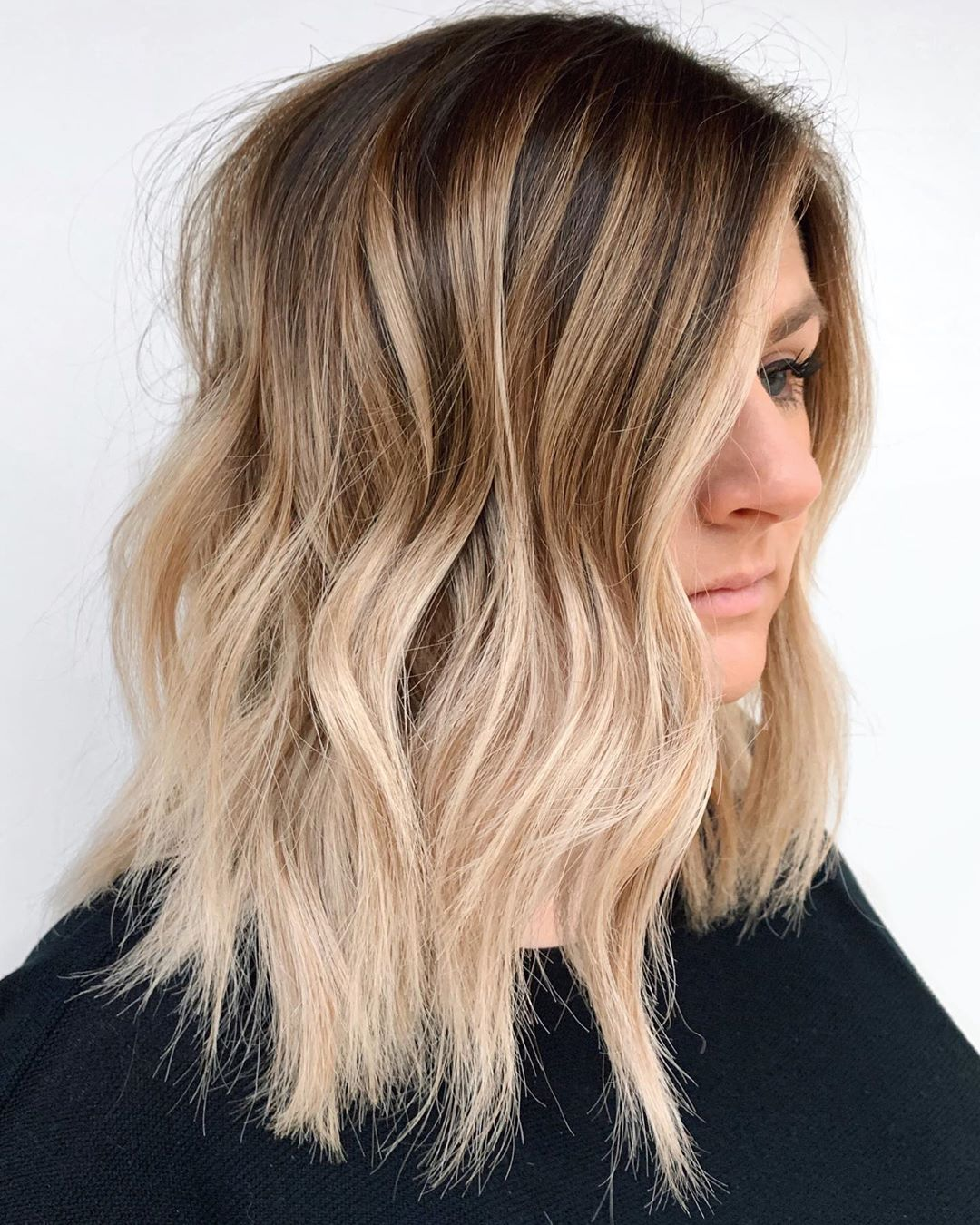 Bronde Ombre with Light Ends