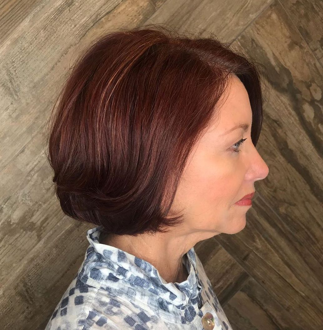 Short Bob with a Side Part