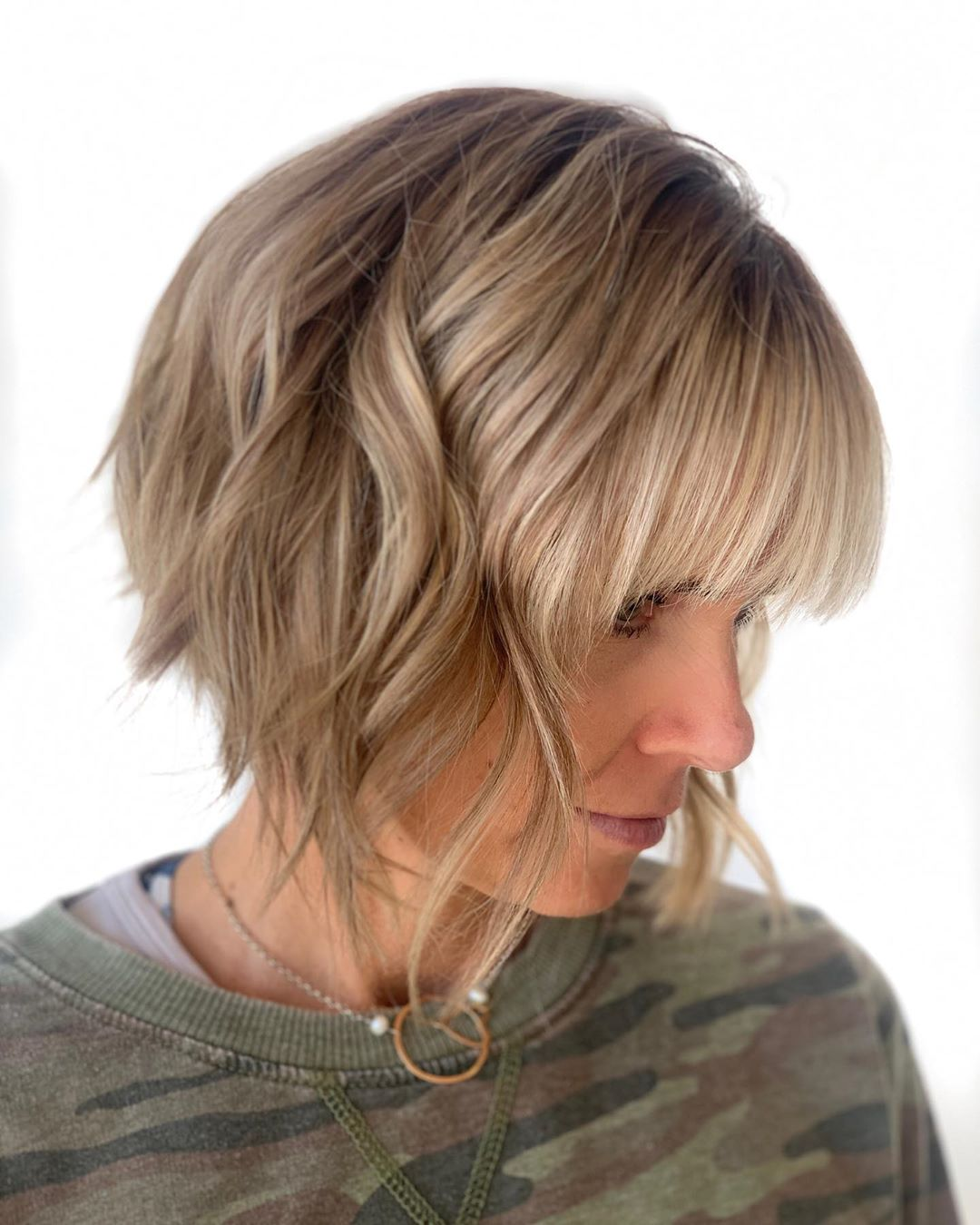 2020 Bob Haircut with Bangs