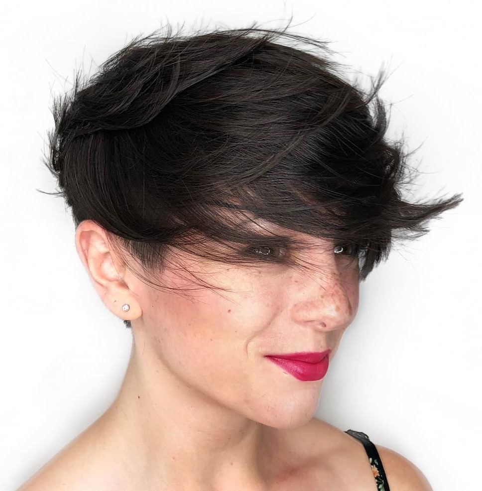 Straight Pixie for Thin Hair