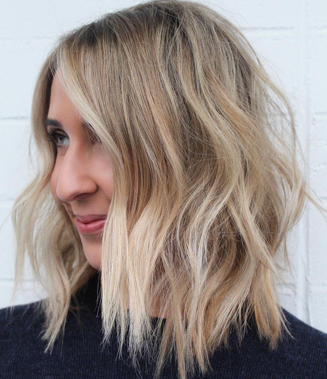 Melting Blonde Hair Color