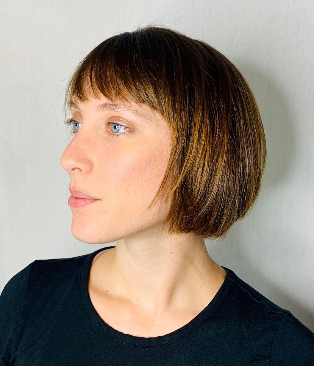 Short Textured Bob Cut