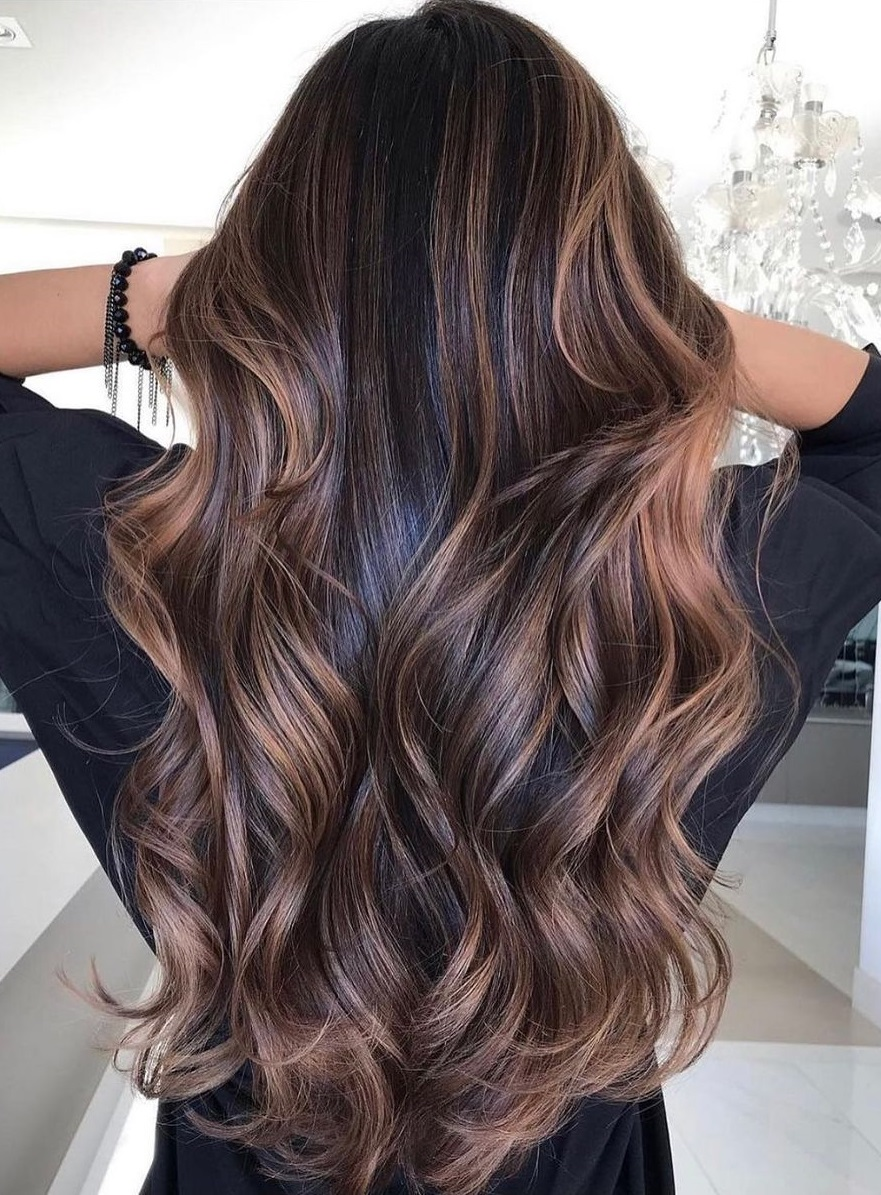 Hair Color Idea for Women with Dark Hair