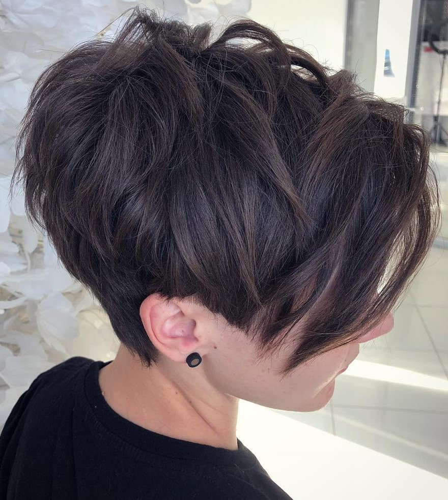 Choppy Pixie Cut for Thick Hair