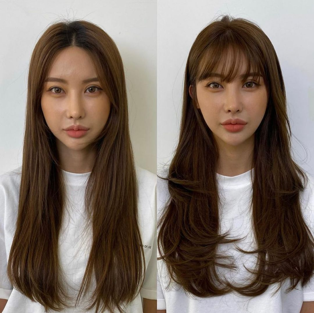 Shaggy Hairstyles with Bangs for Layered Hair