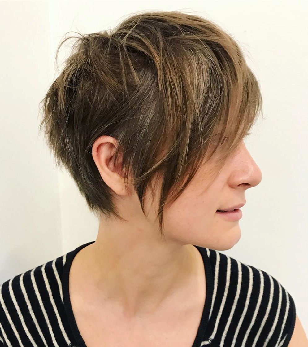 Short Haircut for Thin Hair