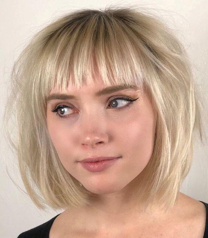 Wispy Neck-Length Haircut for Fine Hair