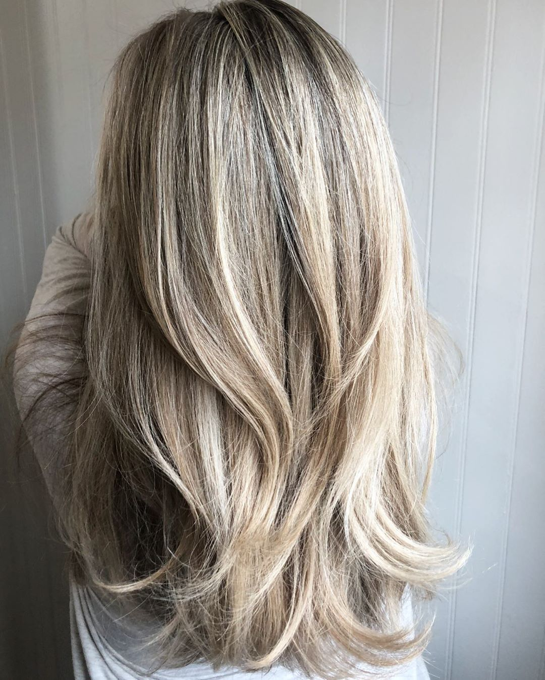 Short Layers for Long Hair