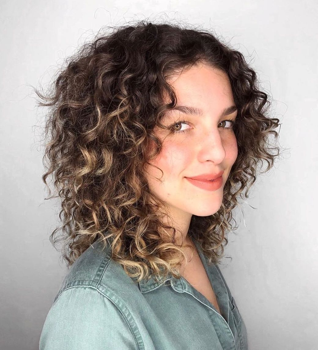 Layered Haircut for Thick Curly Hair
