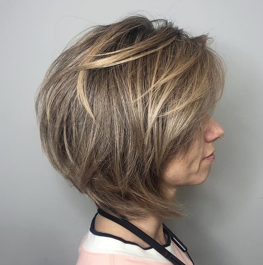Neck-Length Haircut with Feathered Layers