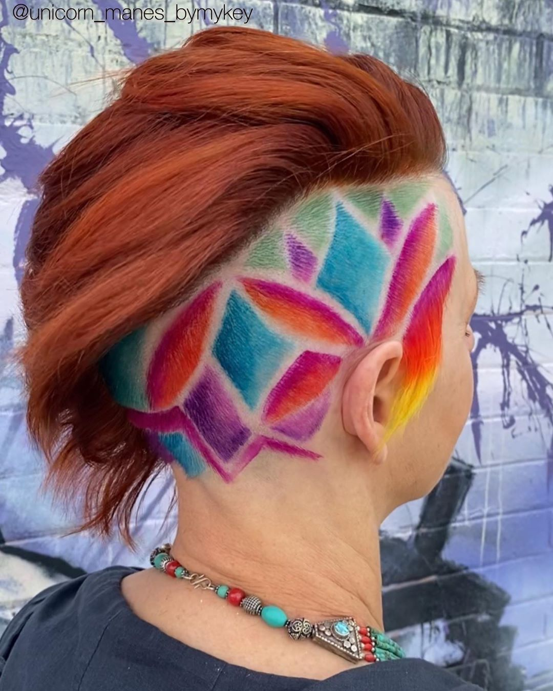 Funky Side Undercut Hairstyle