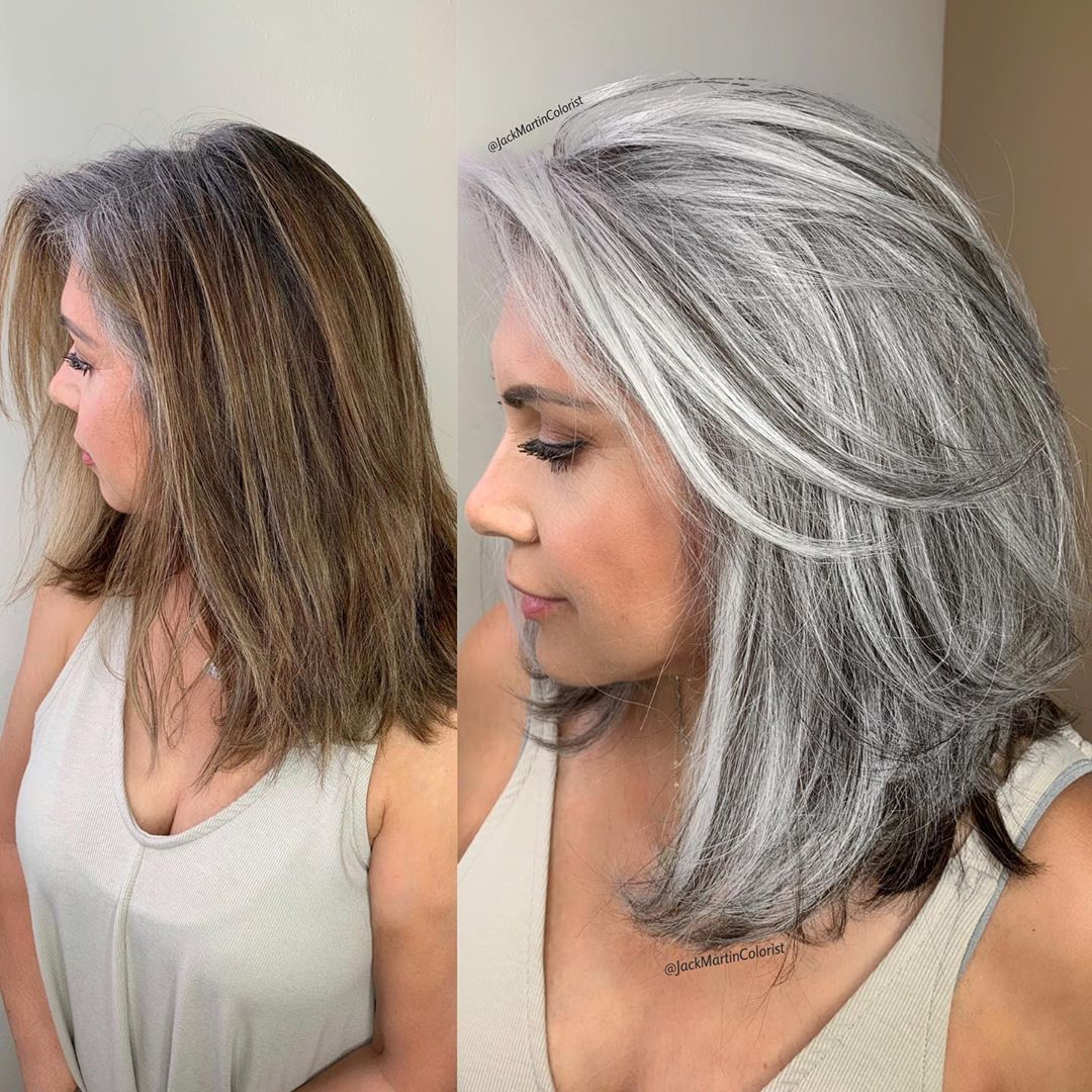 Hair Color to Go Gray