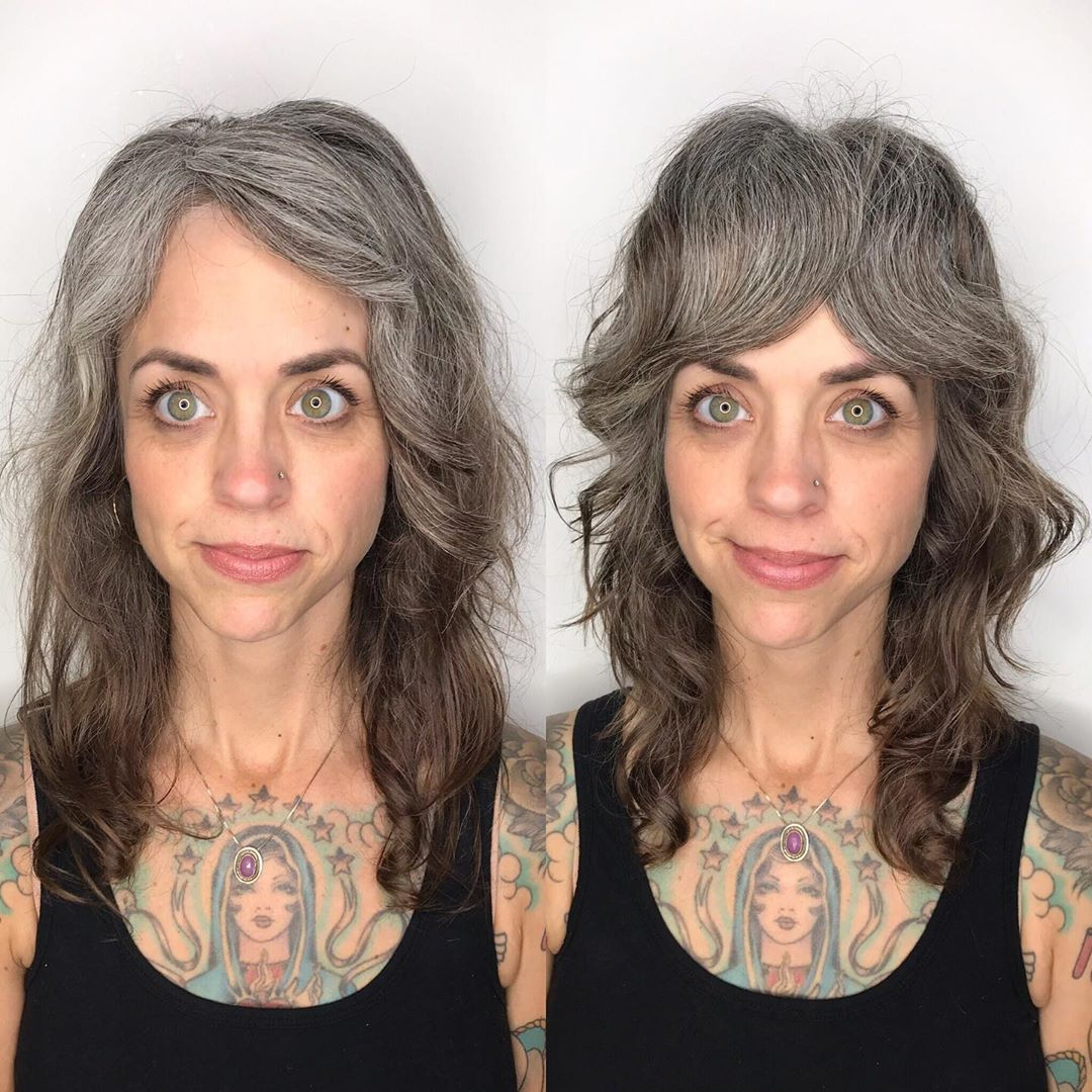 Natural Gray Hair Color