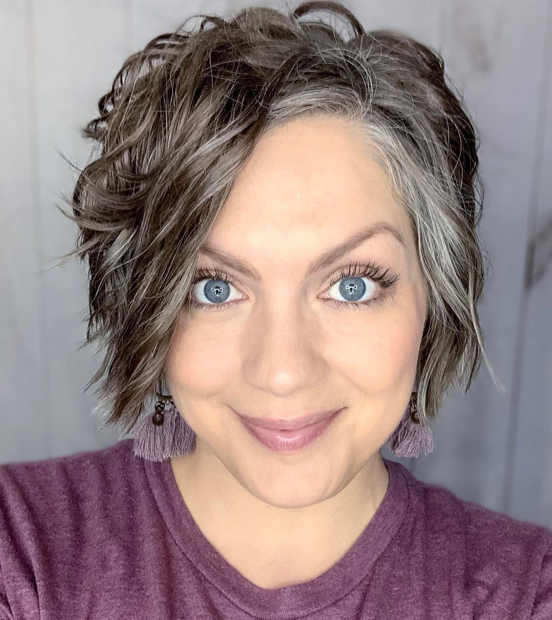 Youthful Natural Gray Hair