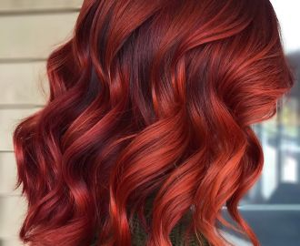 Bright Auburn Red Hair