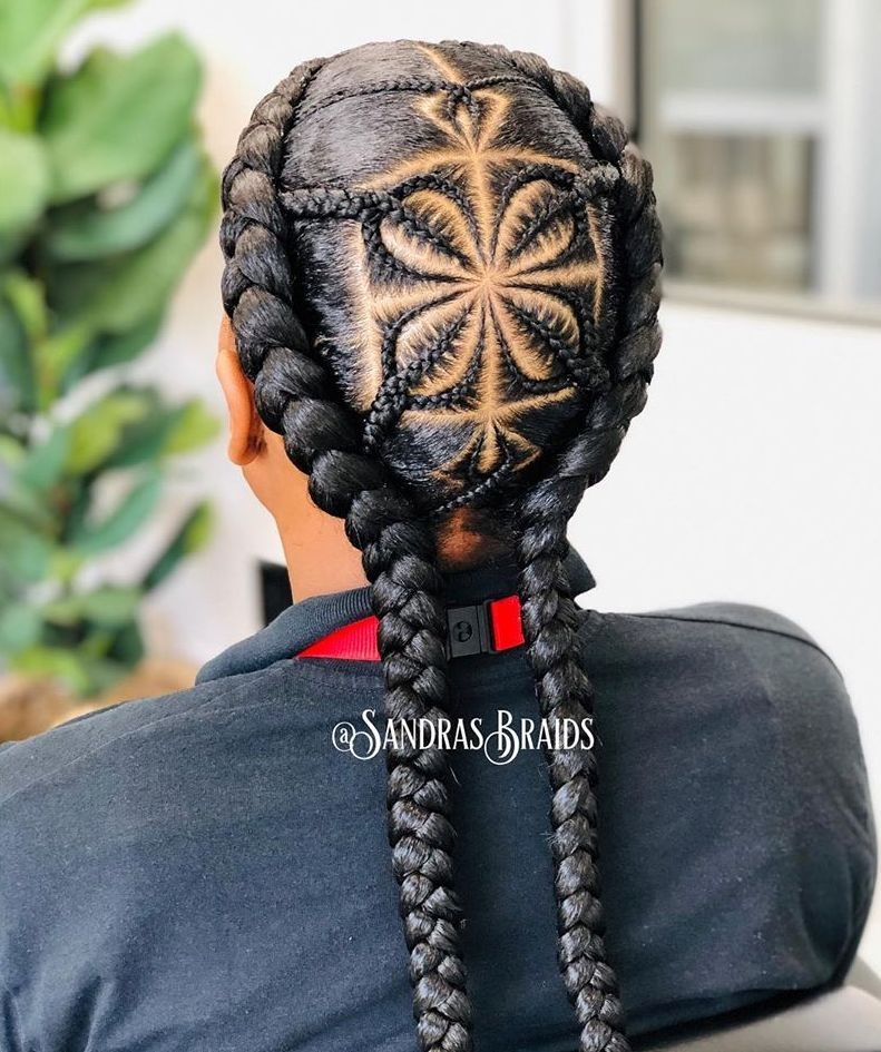 Creative Braided Hair