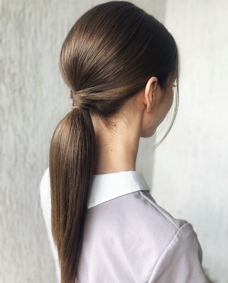 Put Together Ponytail Updo with a Bouffant
