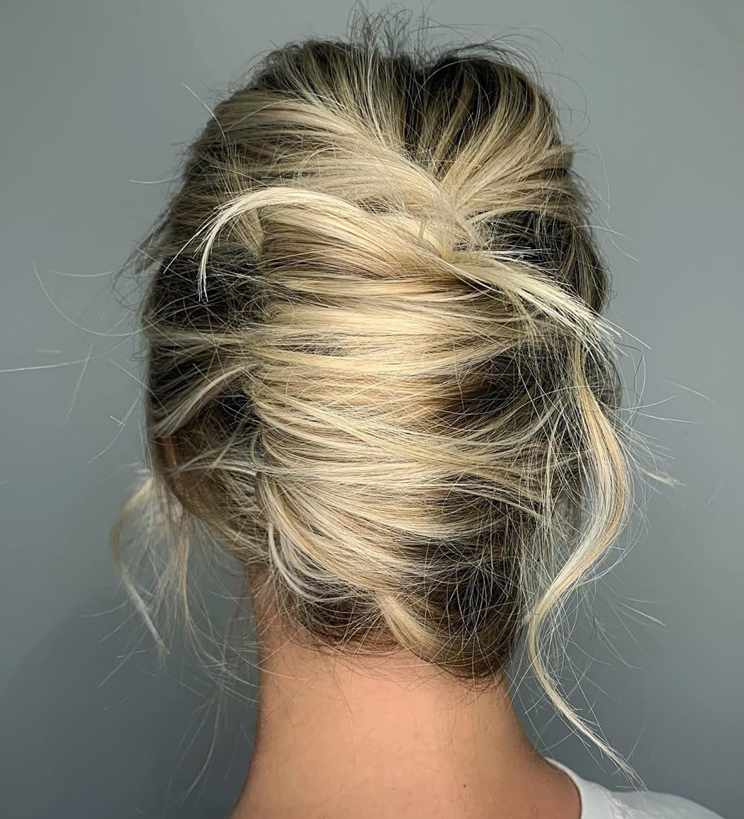 Messy Hair Up Hairstyle