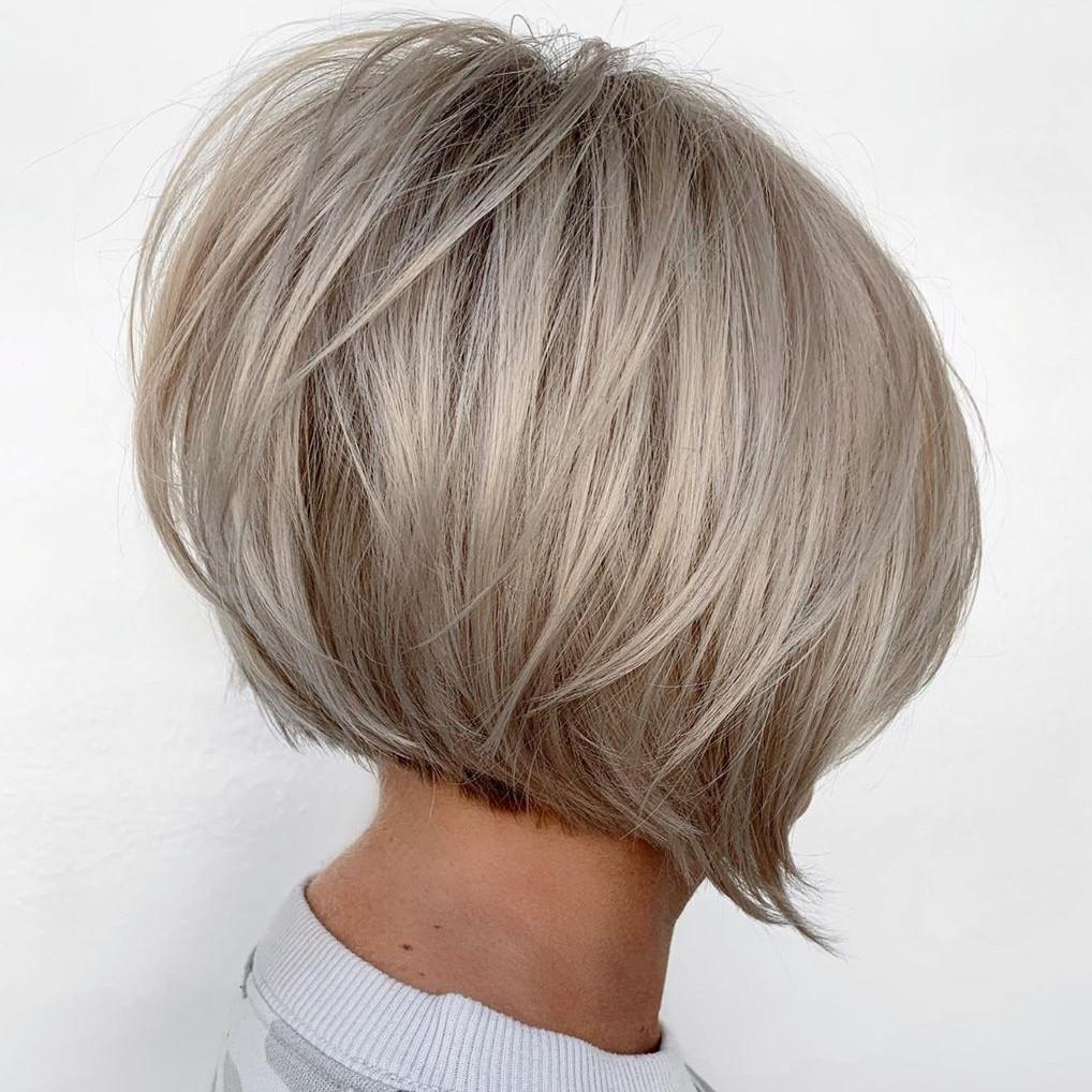 Icy Blonde Hair Color Idea